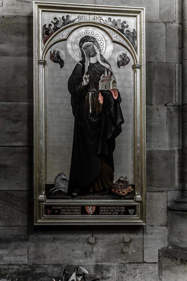 Die heilige Agnes von Böhmen