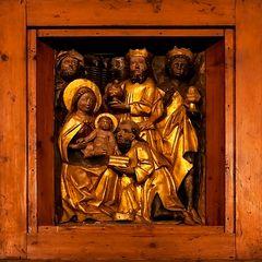 Die heilige Familie und die heiligen 3 Könige