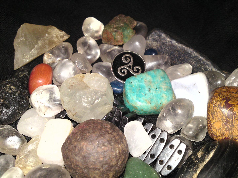 Die heiligen Steine. -