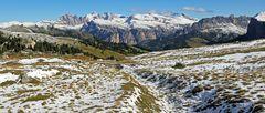 """Die Heimat meiner """"Dolomiten Teufelskralle"""" ist die hinterste Kette..."""