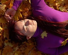 die Herbstsonne geniesen