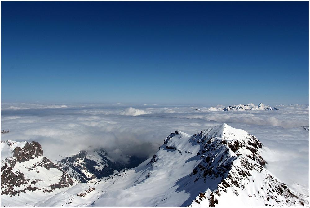 Die Herrlichkeit der Berge....