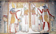 Die herrlichsten Farben aus der Pharaonenzeit . . .