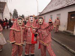 Die Hilpoltsteiner Flecklasmänner, ein jahrhunderte alter Brauch, den Winter zu vertreiben