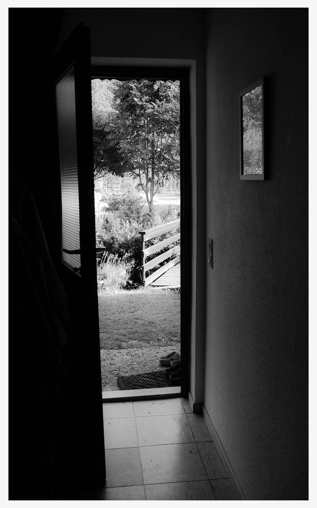 Die Hintertür ...