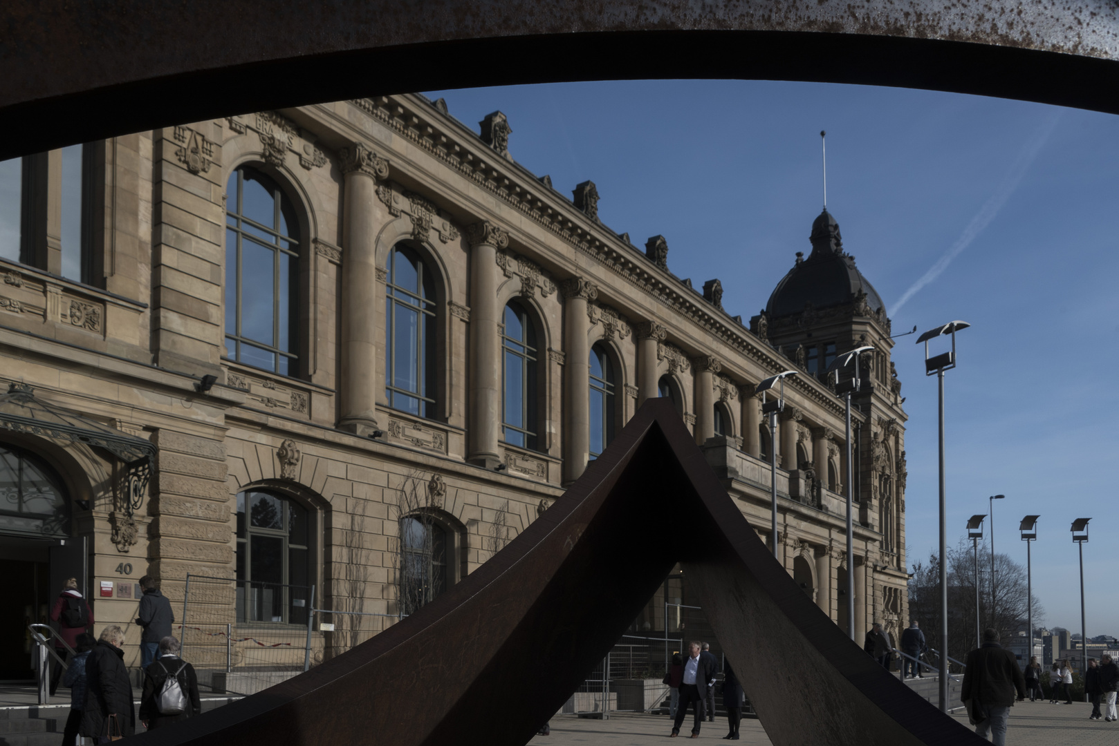 die historische Stadthalle in Wuppertal durch neue Augen gesehen