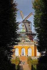 Die historische Windmühle von Sanssouci