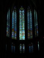 Die hochmittelalterlichen Fenster im Obergaden u. Triforium des Hochchores im Kölner Dom