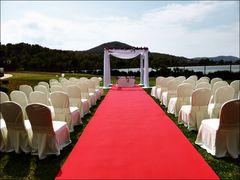 Die Hochzeitsvorbereitungen sind zu Ende