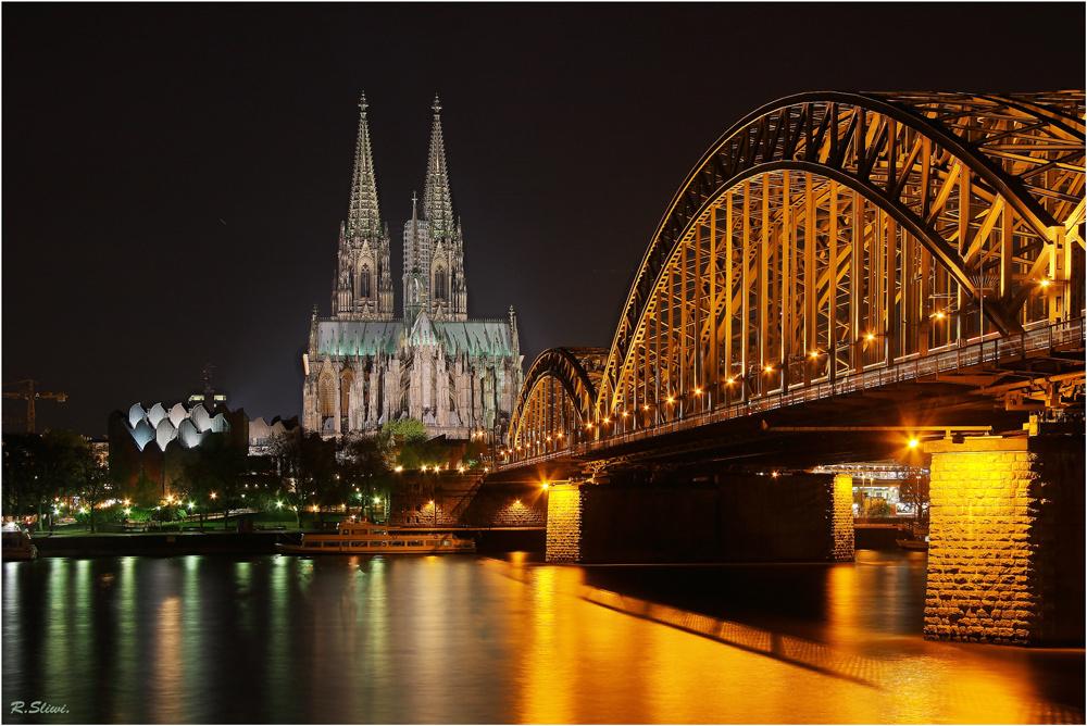 Die Hohenzollern-Brücke