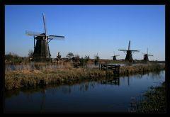 Die Holländer-Windmühlen...