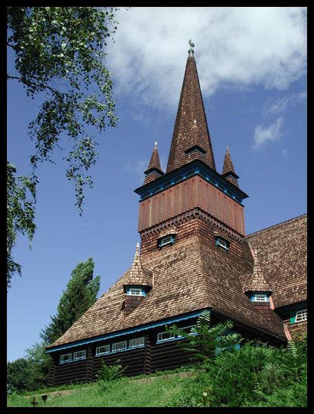 Die Holzkirche von Miskolc