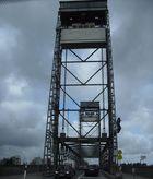 Die Hubbrücke in Huntebrück an der B-212 / 2012 Abriss dieser Brücke geplant.