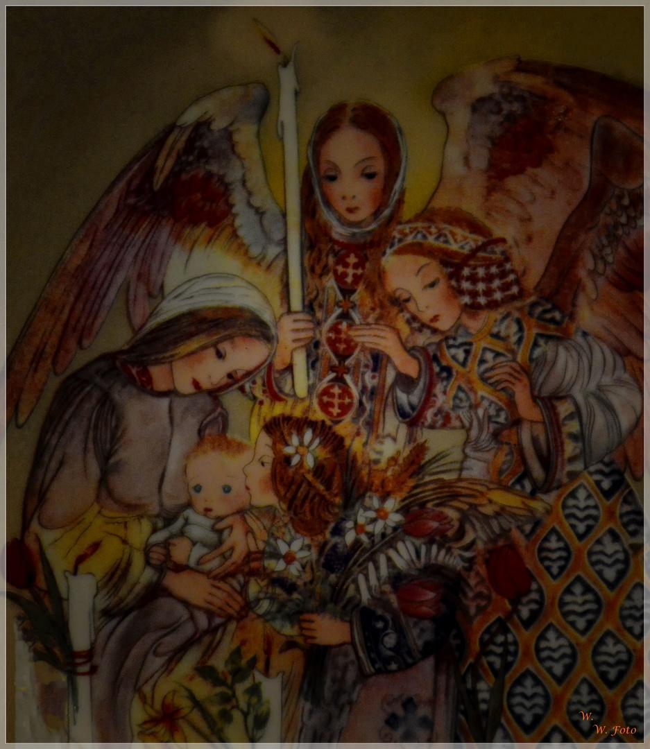 Die Huldigung der Engel
