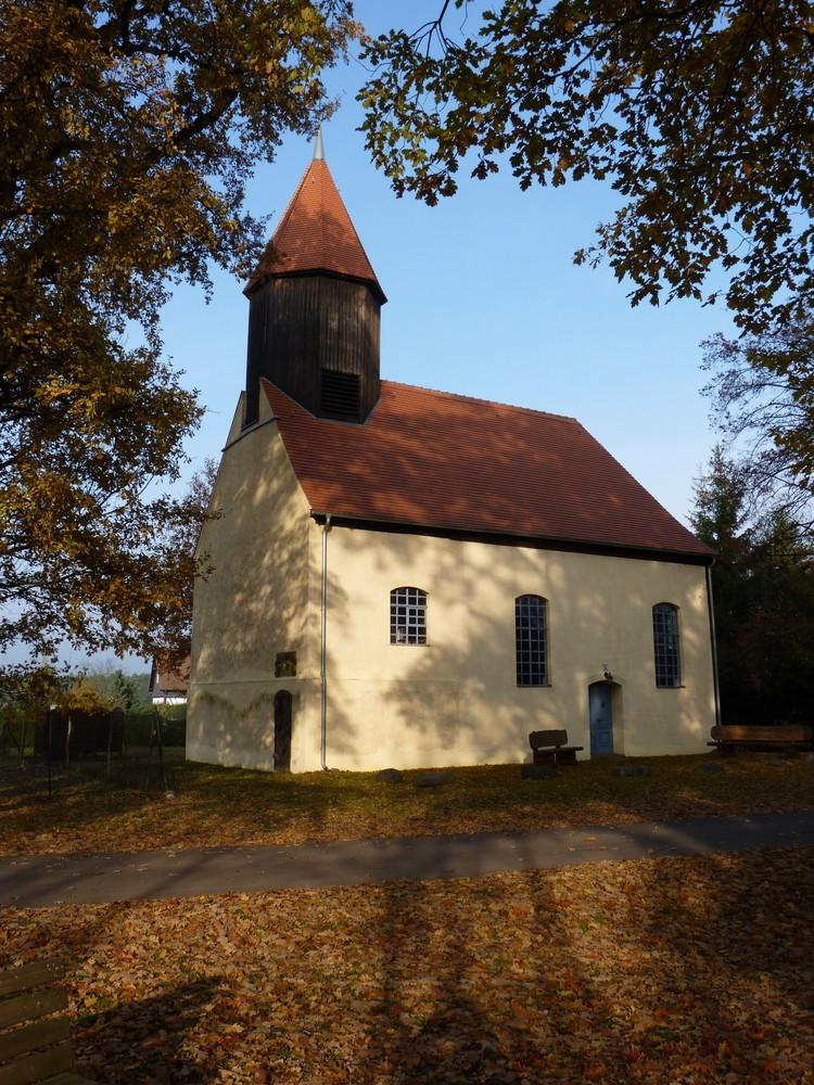 Die Illmersdorfer Kirche