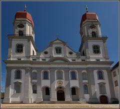 Die imposante Klosterkirche St. Urban