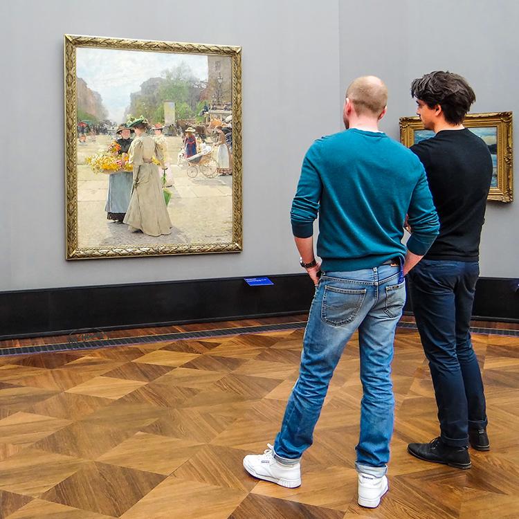 Die Impressionisten regen an