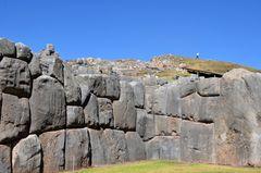 Die Inka-Festung Sacsayhuaman bei Cusco (2)