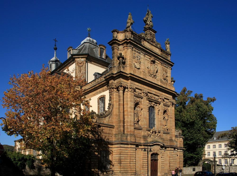 """Die Jesuitenkirche """"Maria Immaculata"""""""