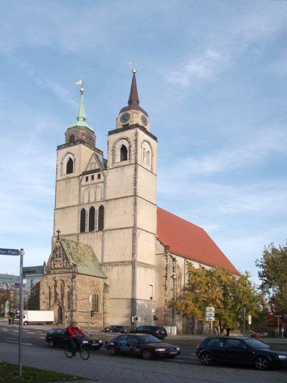 Die Johanniskirche in Magdeburg