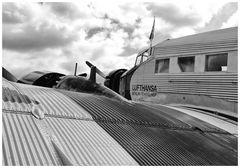 Die Ju 52 Speziell für Annette mit Motorstartgeräusch s.u.!