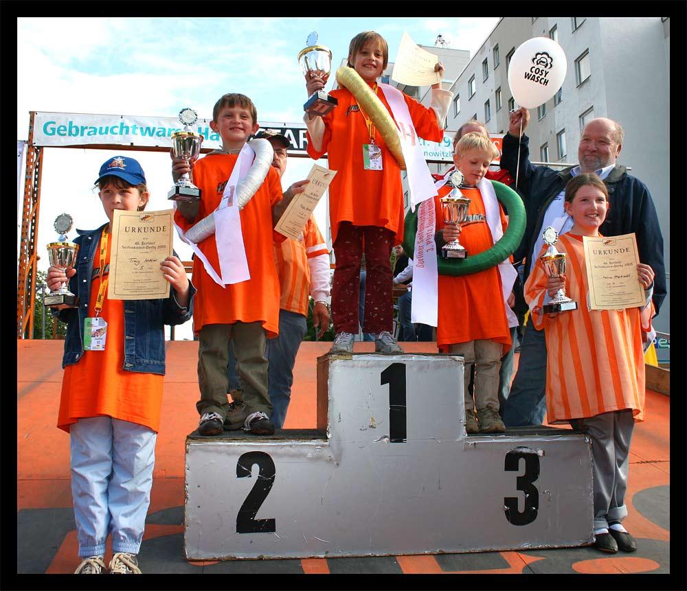 Die Juniorklassen Gewinner.