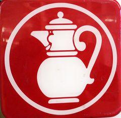 ... die Kaffeekanne !