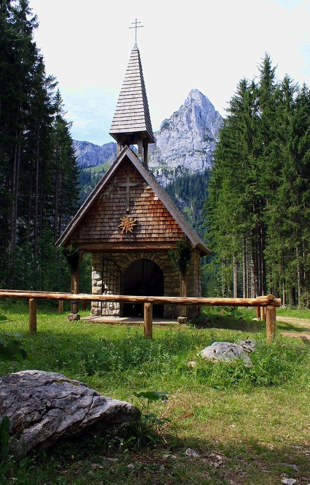 Die Kapelle am Wankerfleck!
