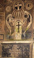 Die Kapelle in den Valkenburger Grotten