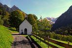 Die Kapelle in Gerstruben