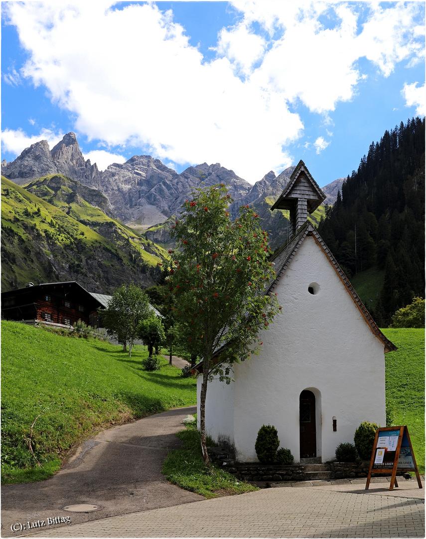 Die Kapelle St. Katharina von Einödsbach