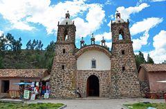 Die Kapelle von Raqchi im Süden Perus