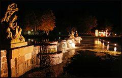 Die Kaskaden bei Nacht...