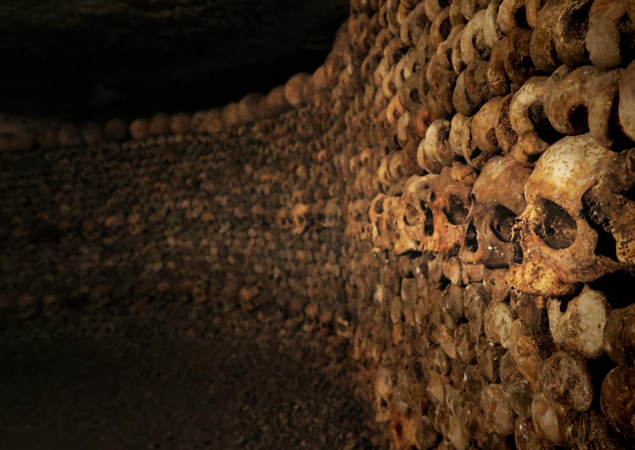 Die Katakomben von Paris