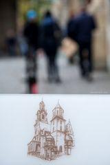 die kathedrale auf dem wawel besuchen ...
