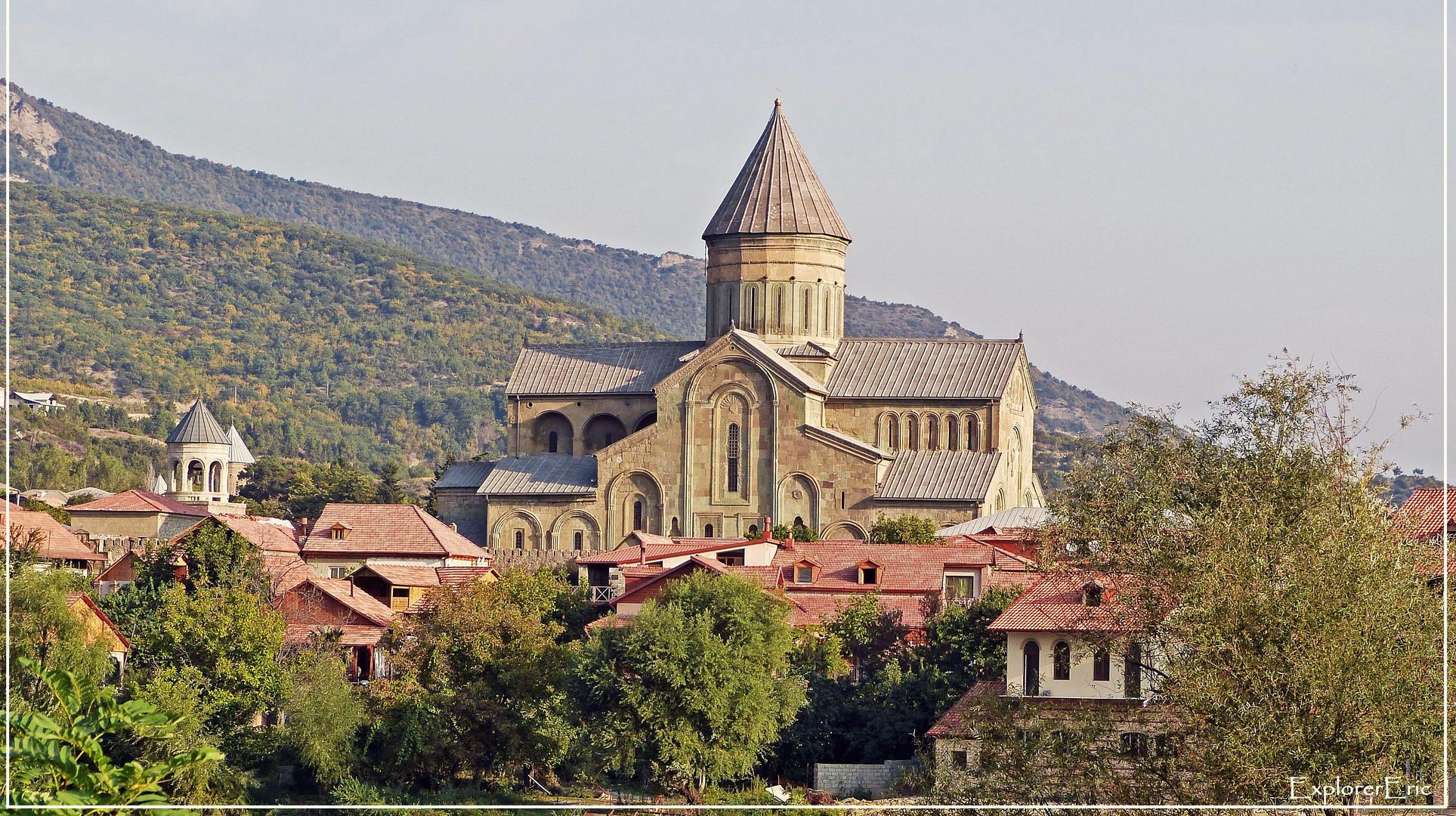 die Kathedrale von Mtskheta.......