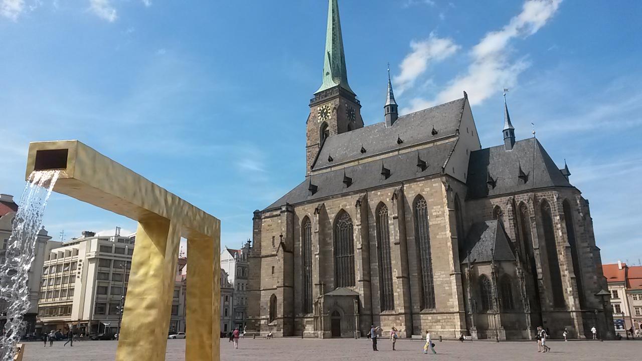 Die Kathedrale von Pilsen
