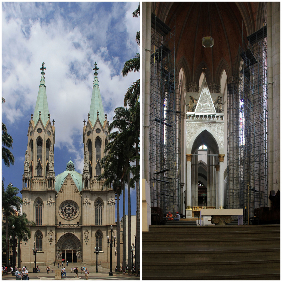 die Kathedrale von Sao Paulo 2