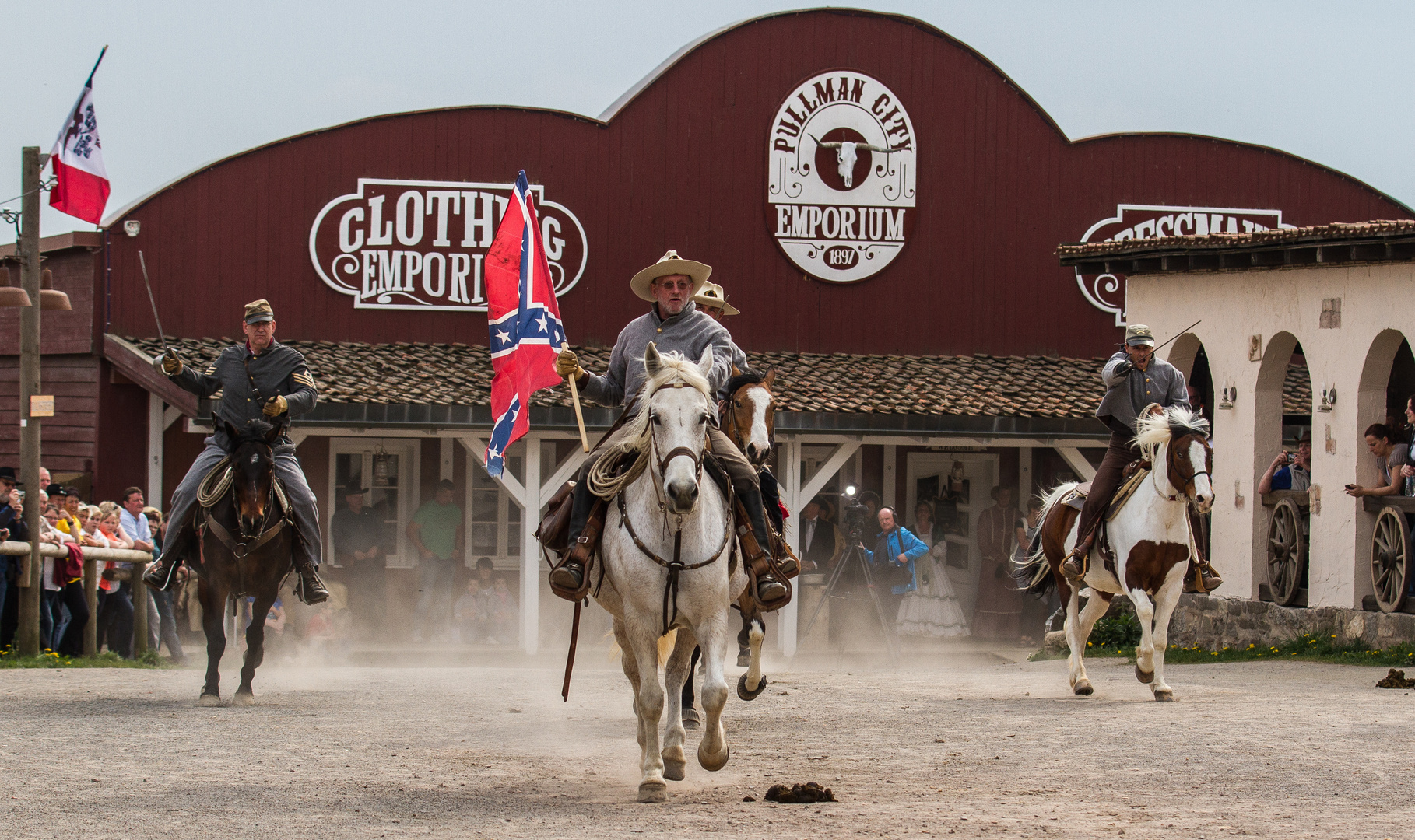 Die Kavallerie greift an