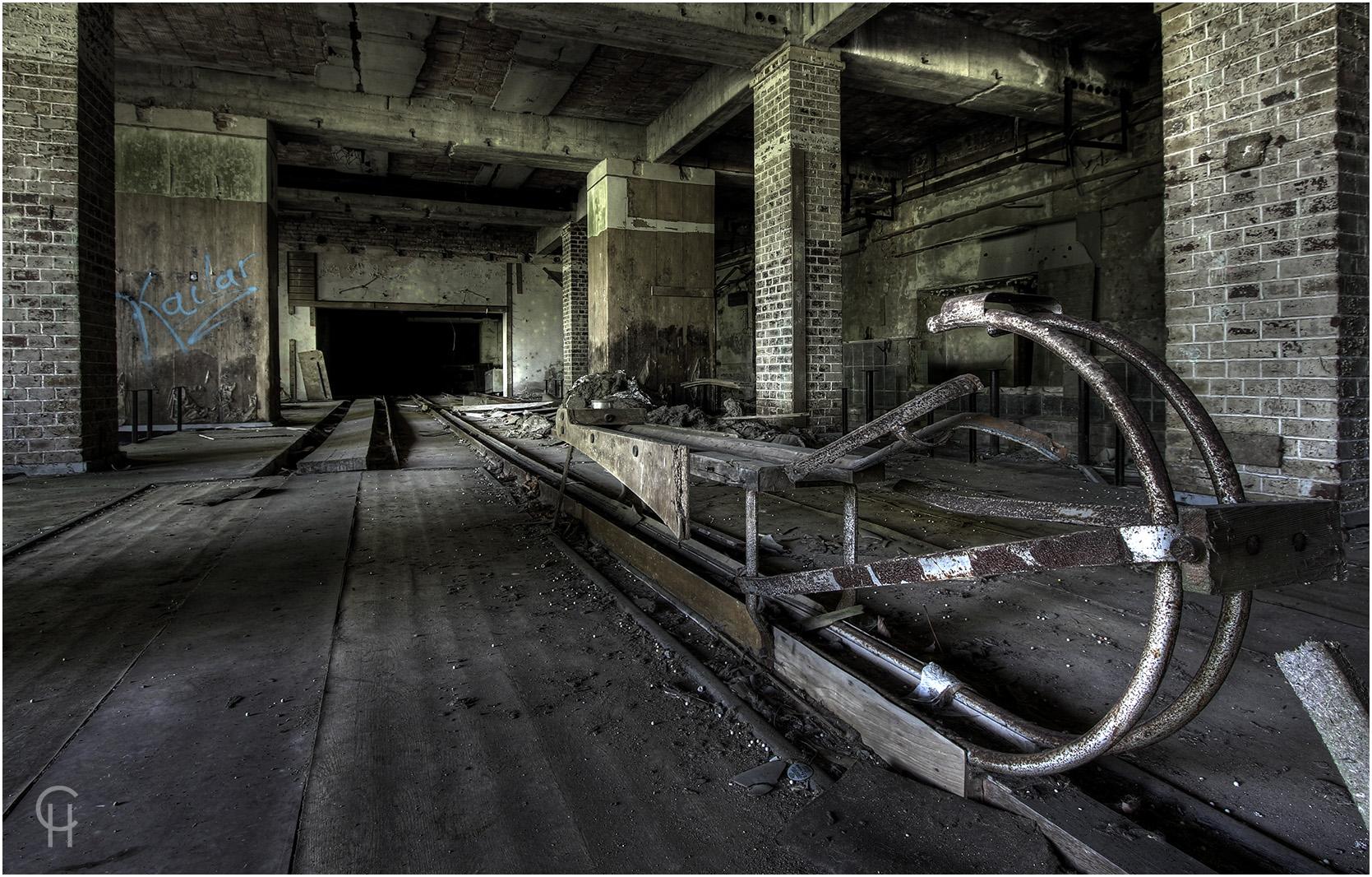 Die Kegelbahn der DDR Grubenarbeiter