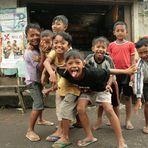 Die Kinder hatten Spaß