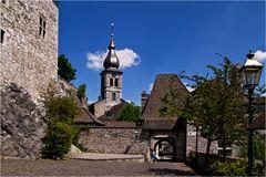Die Kirche an der Burg Stolberg