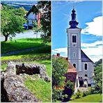 Die Kirche Frauenberg . . .