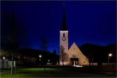 Die Kirche Heiligen Blut von Marquartstein