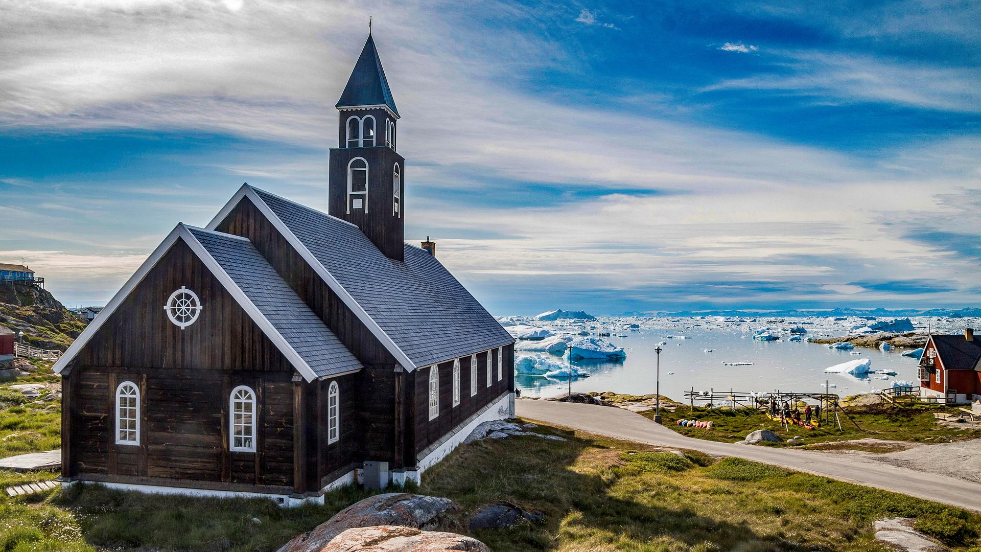 die Kirche im Eis