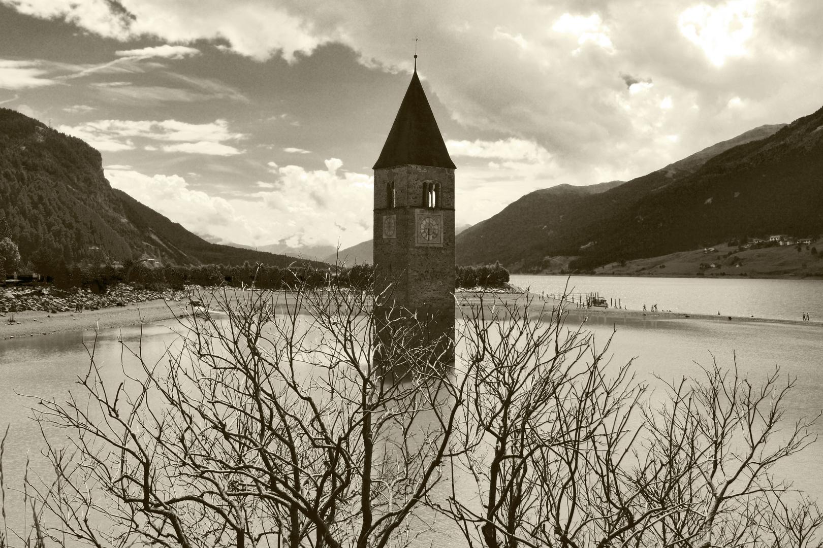 die Kirche im See 2 - Rechensee