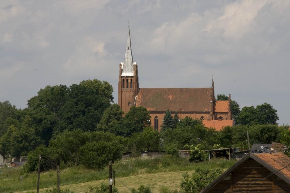 Die Kirche in Braunswalde