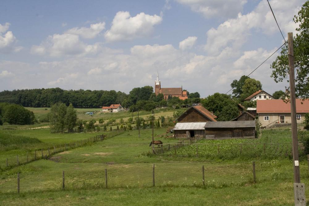 Die Kirche in Braunswalde (Ermland)