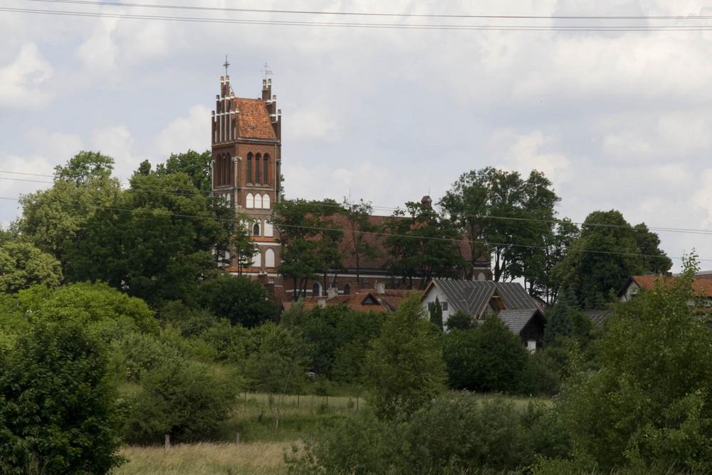 Die Kirche in Diwitten (Ermland)