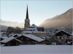 Die Kirche in Partenkirchen.